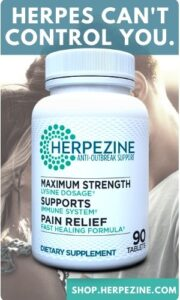 Herpezine Herpes treatment