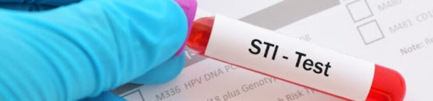 A result of STI test placed on the laboratory